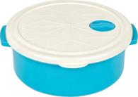 Контейнер Bager BG-419 B White Blue круглый 1.5 л (BG-419 B)