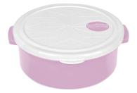 Контейнер Bager BG-419 L White Lilac круглый 1.5 л (BG-419 L)