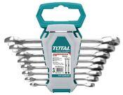 Набор ключей комбинированных с трещеткой Total THT102RK086 8 шт.