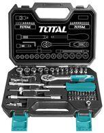 """Набор Total THT141451 ключей, головок торцевых 1/4"""", 45 предметов"""