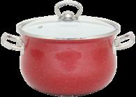 Кастрюля INFINITY SCE P450B 24 см 6.5 л Red (6367510)