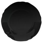 Тарелка Luminarc LOUIS XV BLACK 24 см (P8968)