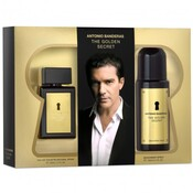 Antonio Banderas The Golden Secret For Men edt 100ml+deo 150ml