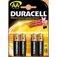 Батарейка AA MN1500 LR6 * 4 Duracell 81404815/81267331