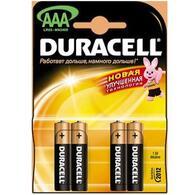 Батарейка AAA MN2400 LR03 * 4 Duracell 81267217