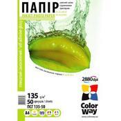 Бумага ColorWay A4 ПСГ135-50 PGS1358050A4