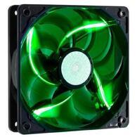 Кулер для корпуса CoolerMaster R4-L2R-20AG-R2 120*120*25мм, Sleeve, 3pin, 2000RPM, зеленый