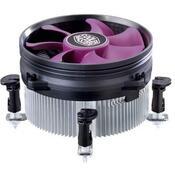 Кулер для процессора CoolerMaster X Dream i117 (RR-X117-18FP-R1) для процессоров INTEL, s775, s1155, s1156, алюминий, 100 mm, 1800 об/мин, 19 dB, подшипник скольжения, 3-pin, без подсветки
