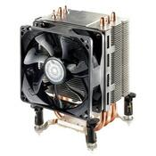 Кулер для процессора CoolerMaster TX3 Evo (RR-TX3E-22PK-R1) для процессоров INTEL, для процессоров AMD, s775, s1155, s1156, s1366, sAM2, sAM2+, sAM3, sAM3+, sFM1, алюминий + медь, 92 mm, 800-2800 об/мин, 17-30 dB, подшипник скольжения, 4-pin, без подсветки, теплові трубки