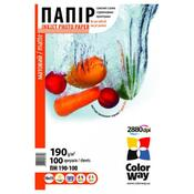 Бумага ColorWay 10x15 ПМ190-100 PM1901004R