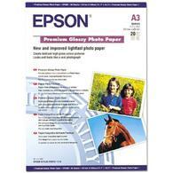 Бумага EPSON A3 Premium Glossy Photo Paper (C13S041315) 250 г/м2, 20 листов, глянец