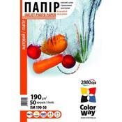 Бумага ColorWay 10x15 ПМ190-50 PM1900504R