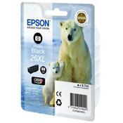 Картридж EPSON 26XL XP600/605/700 black C13T26314010