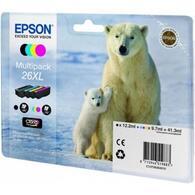 Картридж EPSON 26XL XP600/605/700 Bundle C13T26364010