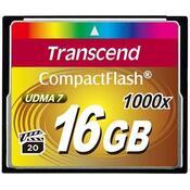 Карта памяти Transcend 16Gb Compact Flash 1000x TS16GCF1000