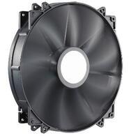 Кулер для корпуса CoolerMaster MegaFlow 200 Silent Fan (R4-MFJR-07FK-R1) 200*200*30мм, скольжения, 3pin, 700RPM, 19dB, черный пластик, немае
