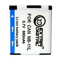 Аккумулятор к фото/ видео EXTRADIGITAL Canon NB-11L (DV00DV1367)