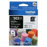 Картридж Brother MFC-J2310/J3520 black LC563BK