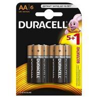 Батарейка Duracell AA MN1500 LR06 * 6 5+1 81485015