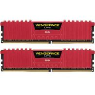 Модуль памяти для компьютера DDR4 16GB 2x8GB 3200 MHz Vengeance LPX Red CORSAIR CMK16GX4M2B3200C16R