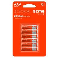 Батарейка ACME AAA Alcaline * 6 4770070868485