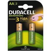Аккумулятор Duracell AA HR6 1300mAh * 2 81367175