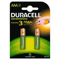 Аккумулятор Duracell AAA HR03 750mAh * 2 5000394038769 / 81472315