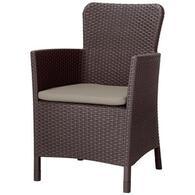Кресло садовое Allibert Miami DC коричневое 17200037599
