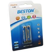 Батарейка Beston AAA 1.5V Alkaline * 2 AAB1832