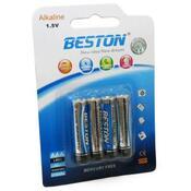 Батарейка Beston AAA 1.5V Alkaline * 4 AAB1833