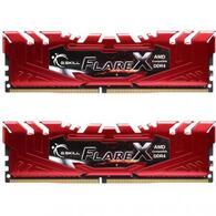 Модуль памяти для компьютера DDR4 16GB 2x8GB 2400 MHz Flare X Red G.Skill F4-2400C15D-16GFXR
