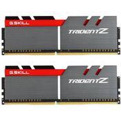 Модуль памяти для компьютера DDR4 16GB 2x8GB 3200 MHz Trident Z Silver H/ Red G.Skill F4-3200C16D-16GTZB