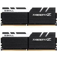 Модуль памяти для компьютера DDR4 16GB 2x8GB 3200 MHz Trident Z Black H/White G.Skill F4-3200C16D-16GTZKW