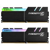 Модуль памяти для компьютера DDR4 32GB 2x16GB 3200 MHz Trident Z RGB G.Skill F4-3200C15D-32GTZR