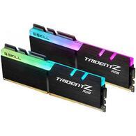 Модуль памяти для компьютера DDR4 16GB 2x8GB 3000 MHz TridentZ RGB Black G.Skill F4-3000C16D-16GTZR