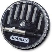 Биты Stanley Sl, Ph 7шт + магнитный держатель (1-68-735)