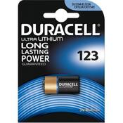 Батарейка Duracell CR 123 / DL 123 * 1 5000394123106 / 5000784