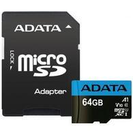 Карта памяти ADATA 64GB microSD class 10 UHS-I A1 Premier AUSDX64GUICL10A1-RA1