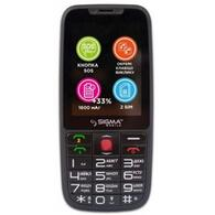 Мобильный телефон Sigma Comfort 50 Elegance 3 1600 mAh Black 4827798233719