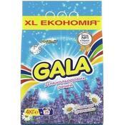 Стиральный порошок Gala Автомат Лаванда и Ромашка для цветного белья 4 кг 8001090924087