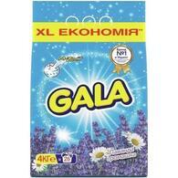 Стиральный порошок Gala Автомат Лаванда и Ромашка 4 кг 8001090924117