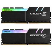 Модуль памяти для компьютера DDR4 32GB 2x16GB 3000 MHz Trident Z RGB G.Skill F4-3000C16D-32GTZR