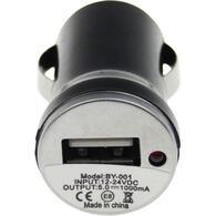 Зарядное устройство TOTO TZZ-54 Car charger 1USB 1A Black F_52814