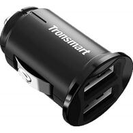 Зарядное устройство Tronsmart C24 Dual USB Port Car Charger Black 236876