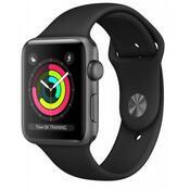 Смарт-часы Apple Watch Series 3 GPS, 38mm Space Grey ALuminium Case with Blac MTF02FS/A