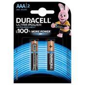 Батарейка Duracell Ultra Power AAA LR03 * 2 5000394060425 / 5004804