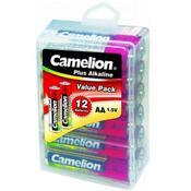 Батарейка Camelion Plus Alkaline LR6 * 12 LR6-PBH12