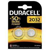 Батарейка Duracell CR 2032 / DL 2032 * 2 5004349