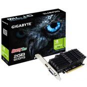 Видеокарта Gigabyte GeForce GT710 2048Mb SILENT GV-N710D5SL-2GL