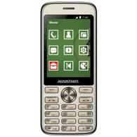 Мобильный телефон Assistant AS-204 Gold 873293012810